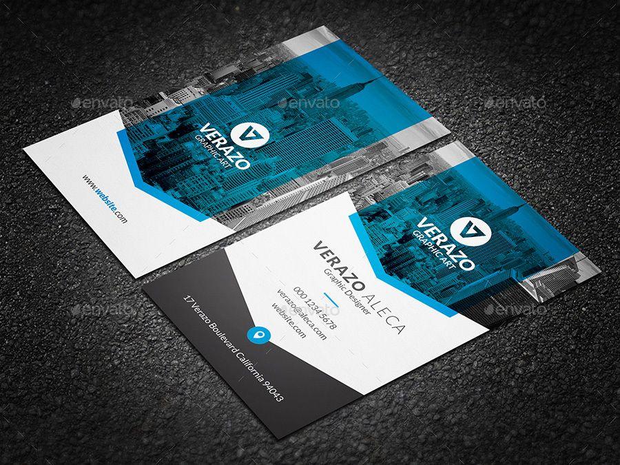 clean  u0026 modern vertical business card template