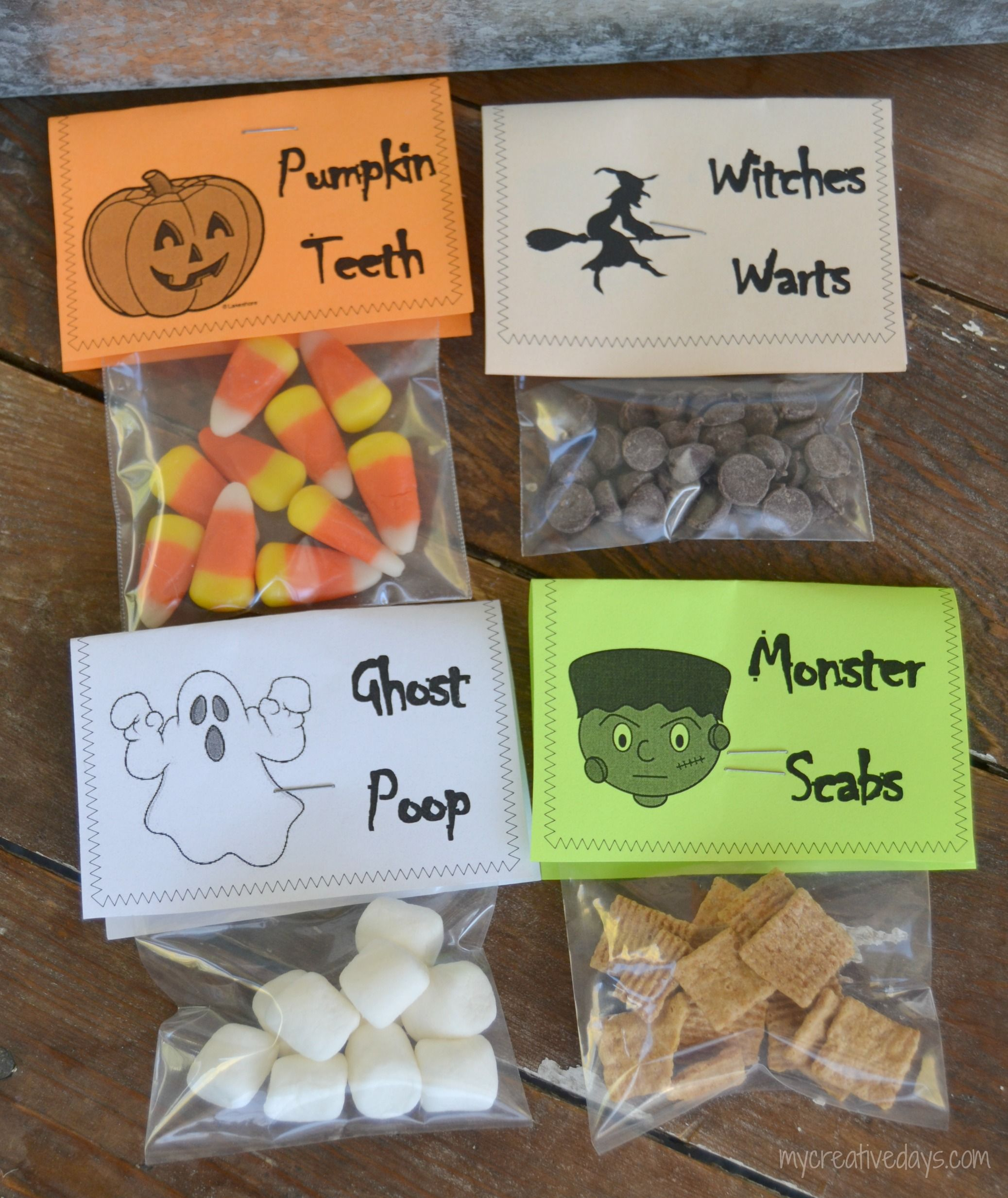 Halloween Party: Easy Decor, Games & Snacks | Treat bags ...