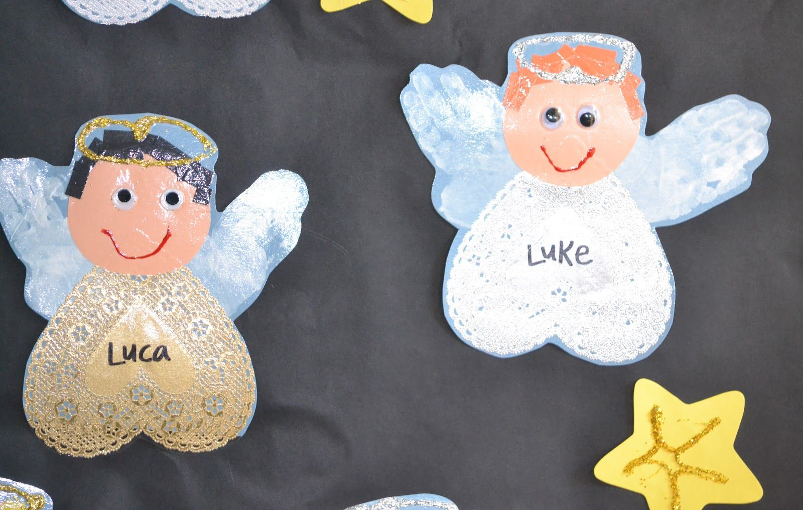 Preschool Angel Crafts Ornaments Fun Craft
