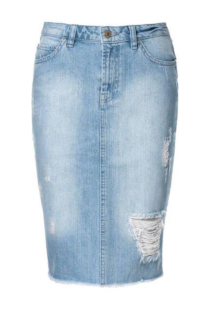 ceb891653 Best Of: Summer Denim | Styles | Pinterest | Faldas, Faldas de jean ...