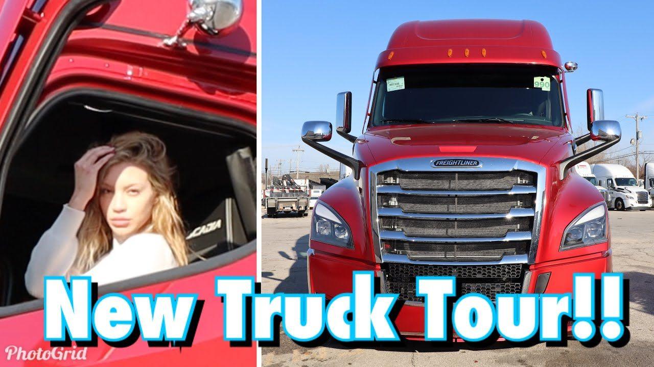 2021 Freightliner Cascadia Custom Truck Tour Freightliner Cascadia Freightliner New Trucks