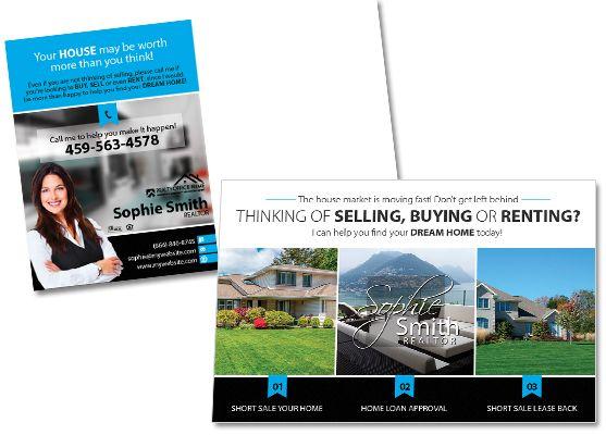 real estate postcard templates
