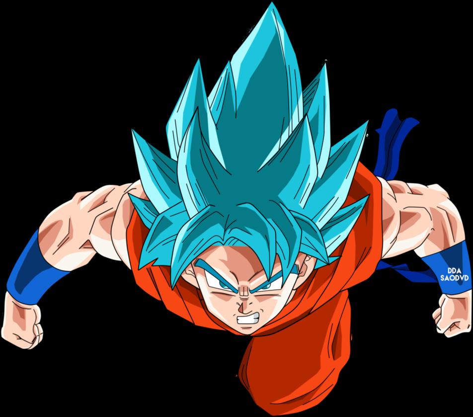 Goku SsjDss (Volando) by SaoDVD | Dragon Ball | Pinterest | Goku ...