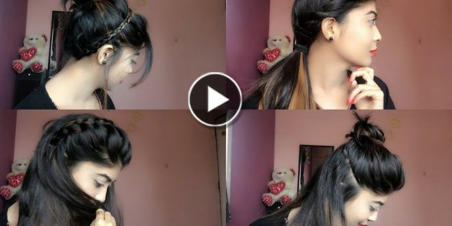 simple cute and beautiful hairstyle for Girls | Beautiful hairstyle for girl, Girl hairstyles ...