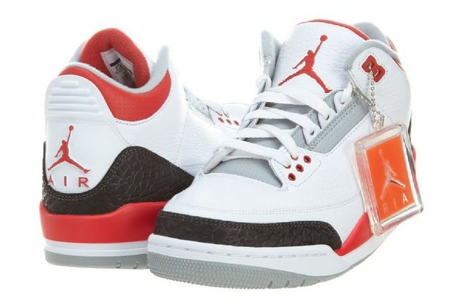 buy online 5ad32 8c793 cool Mens Air Jordan 3 Retro Leather Basketball Shoes - For Sale
