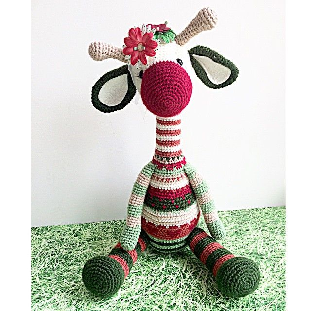 Crochet giraffe. (Inspiration).   girafas amigurumis   Pinterest ...