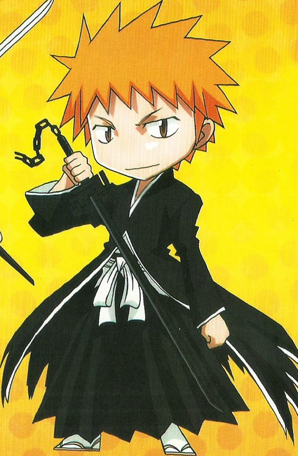 Bleach Kurosaki Ichigo Chibi Png By Bloomsama On Deviantart Bleach Anime Chibi Bleach Art