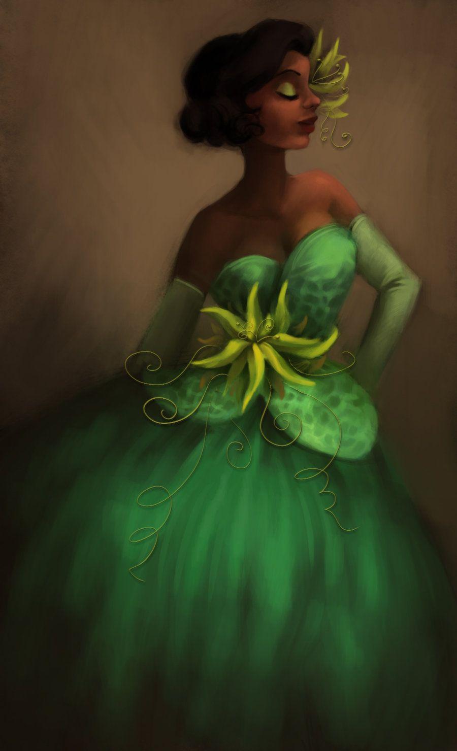 Designer tiana disneyus princess and the frog pinterest disney
