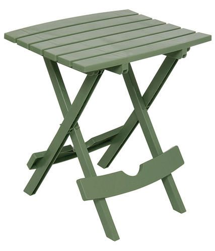 Folding Side Table Sage At Menards Patio Side Table Outdoor Side Table Patio Table
