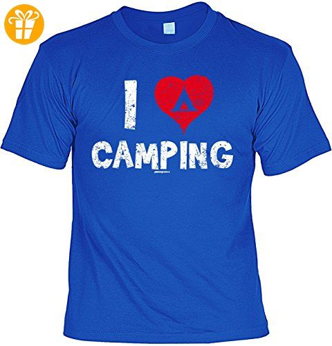 tolles T-Shirt Camping Herren Shirt Camping Fan Camper I love Camping - Geschenk zum Geburtstag Weihnachten Papa (*Partner-Link)
