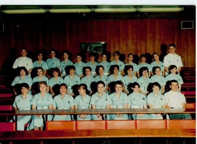 September 1988 Middlesex and UCH Student Nurses set