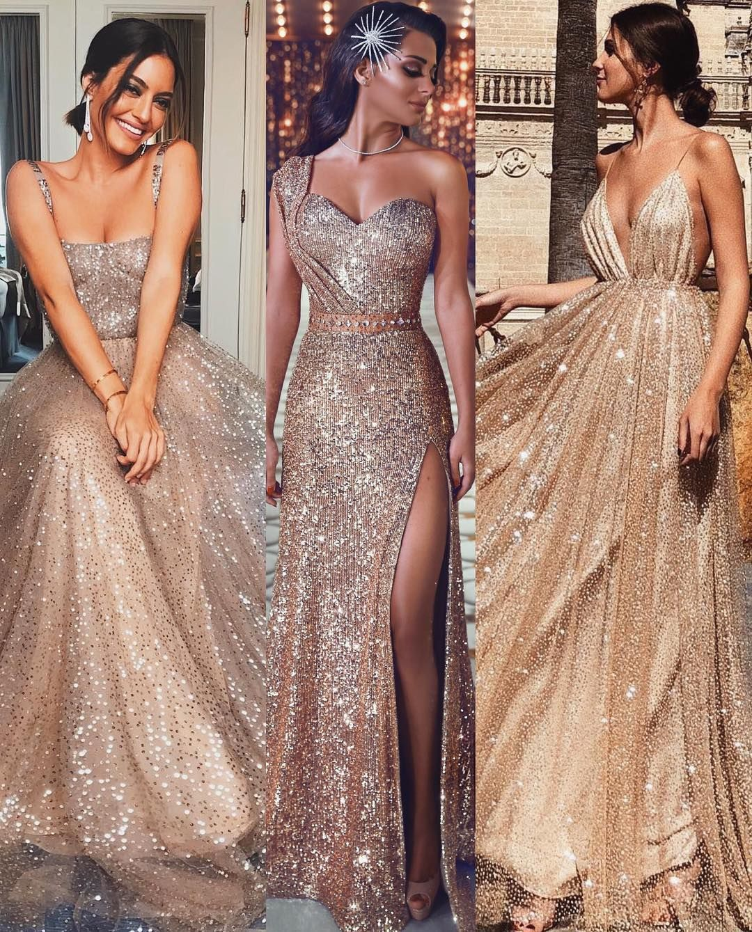 Dressdreamz Gold Mermaid Dress