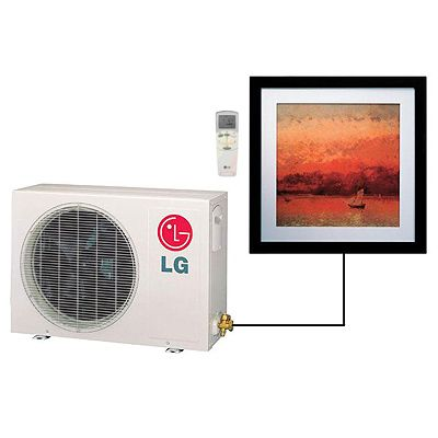 Lg Ar Cool Ductless Air Conditioner Remote Control Heat