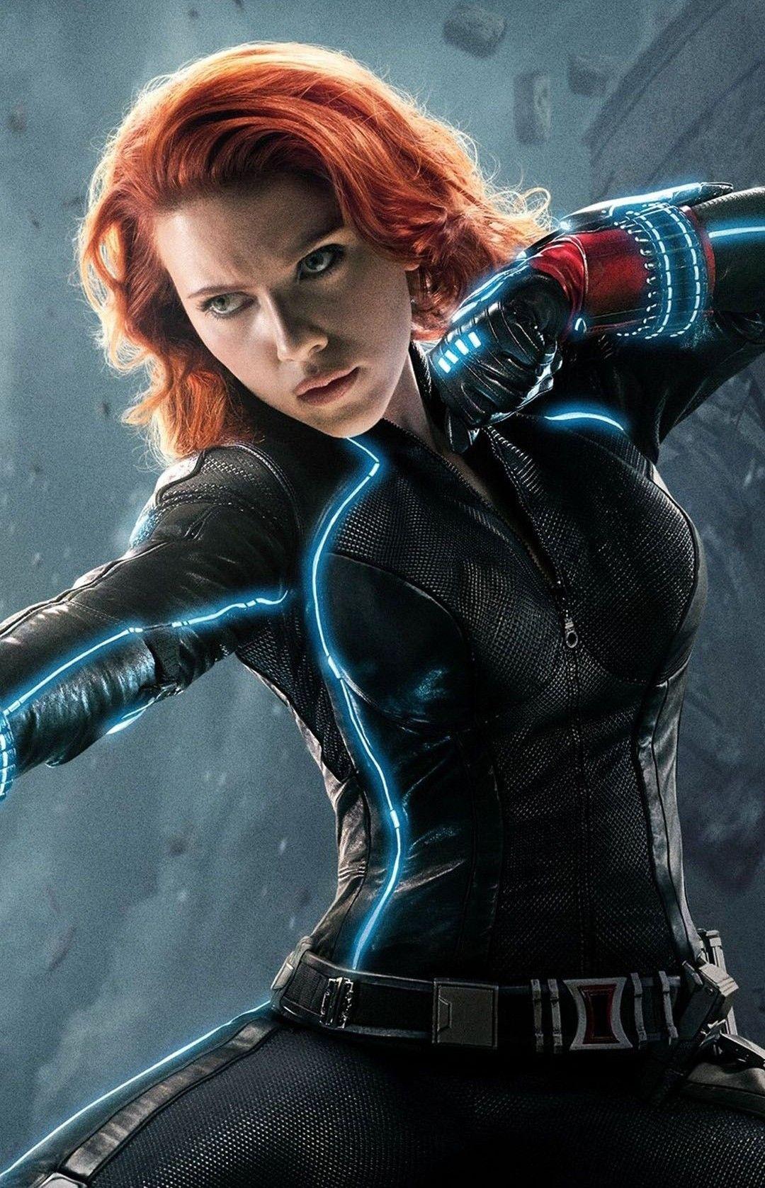 Black Widow In Avengers Age Of Ultron Costume Marvel Mcu