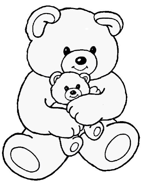Pin By Baukje Lem On Stencils Patterns Coloring Teddy Bear Coloring Pages Teddy Bear Drawing Cartoon Coloring Pages