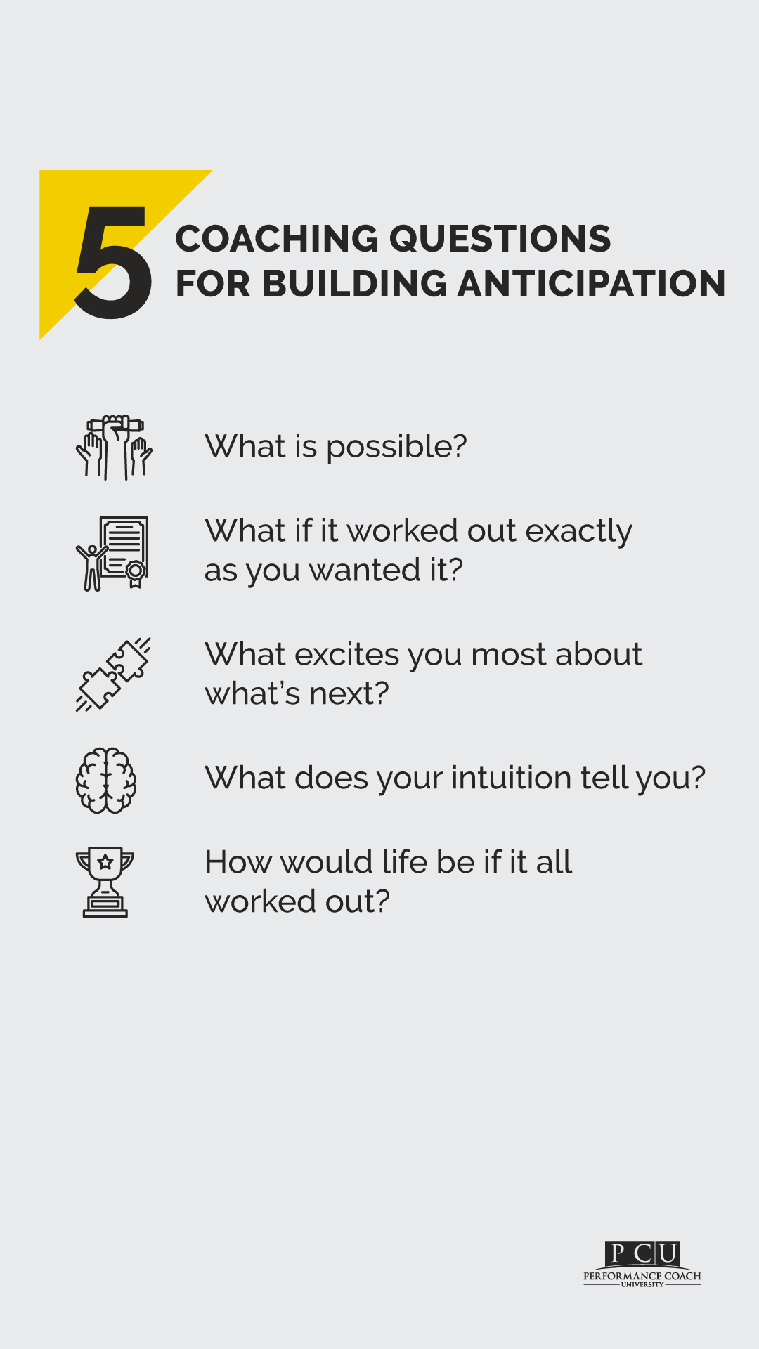 Coaching Questions For Building Anticipation In