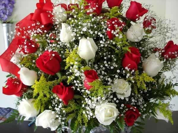 DESDELAVEGARD/Ub Solis: as flores naturales, la rosa es una de las flores
