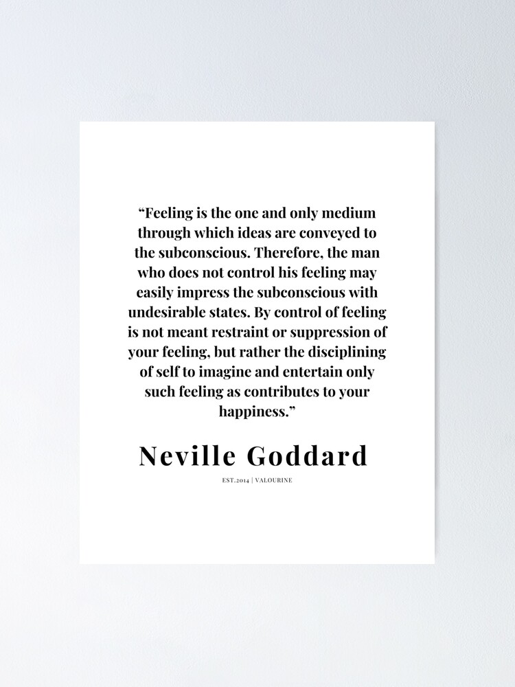 23  | Neville Goddard Quotes | 210308 | Motivational Quote Poster by QuotesGalore