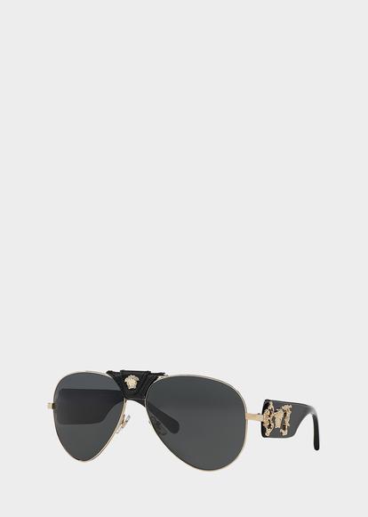 78ce55e19e Black Baroque Sunglasses - black Sunglasses