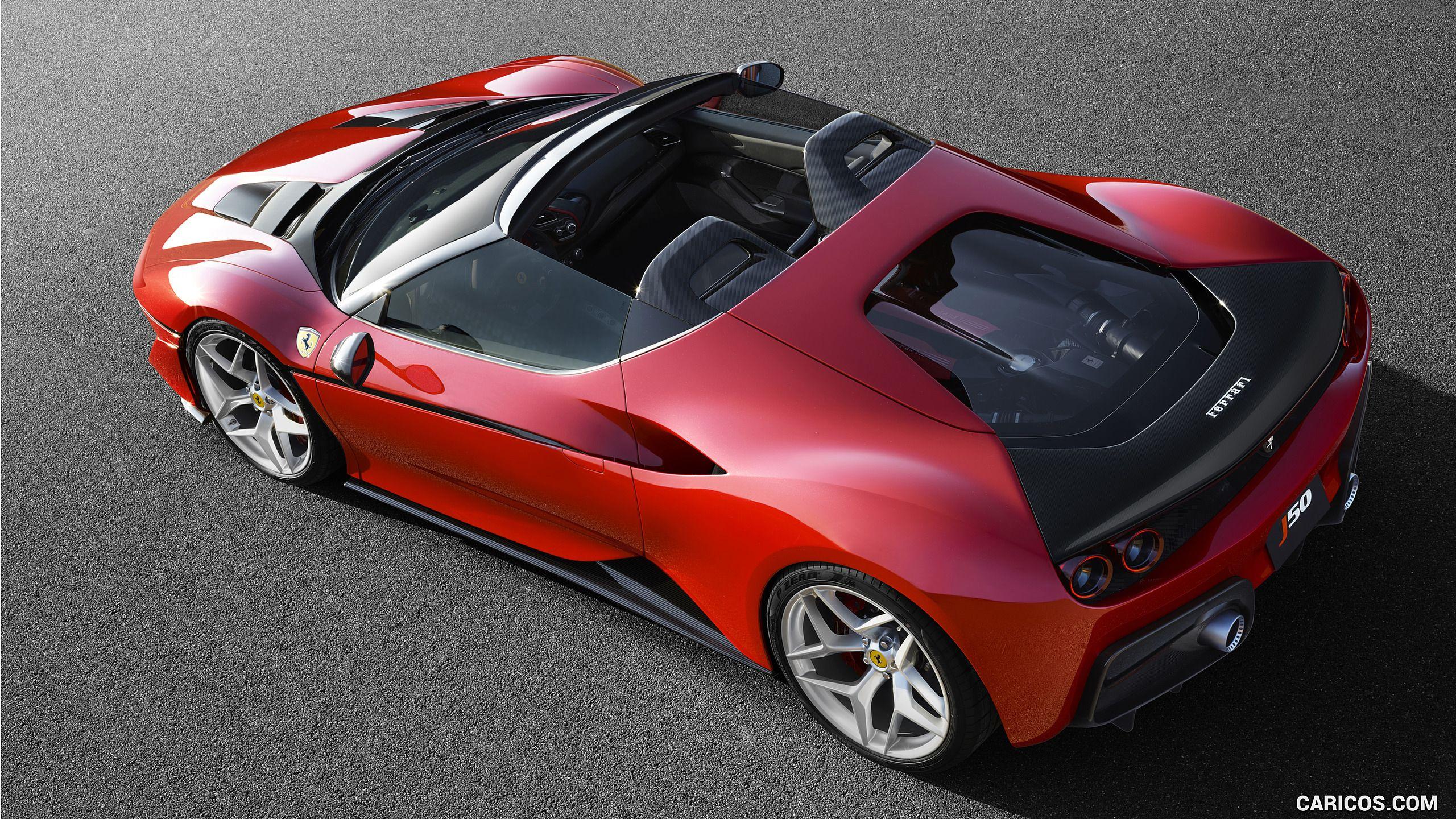 2017 Ferrari J50 Wallpaper