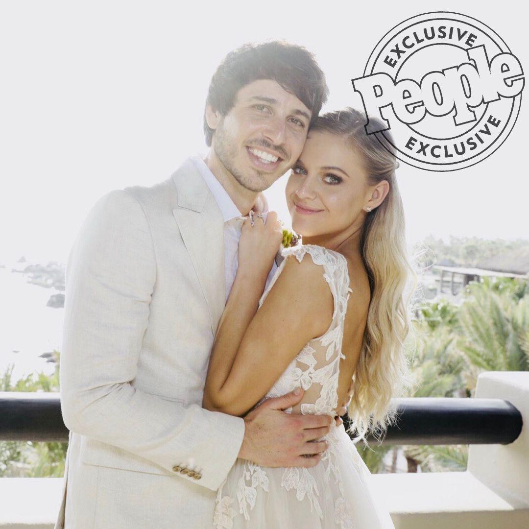 Celebrity Wedding Singers: Kelsea Ballerini And Morgan Evans Are Married! See The