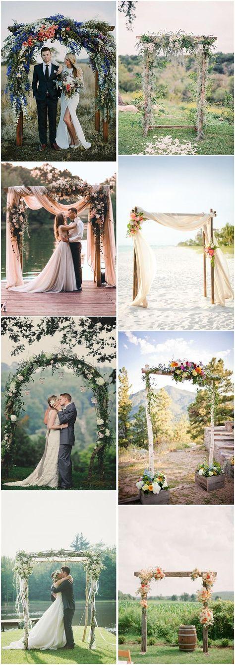 20 diy floral wedding arch decoration ideas salo e casamento 20 diy floral wedding arch decoration ideas salo e casamento junglespirit Images