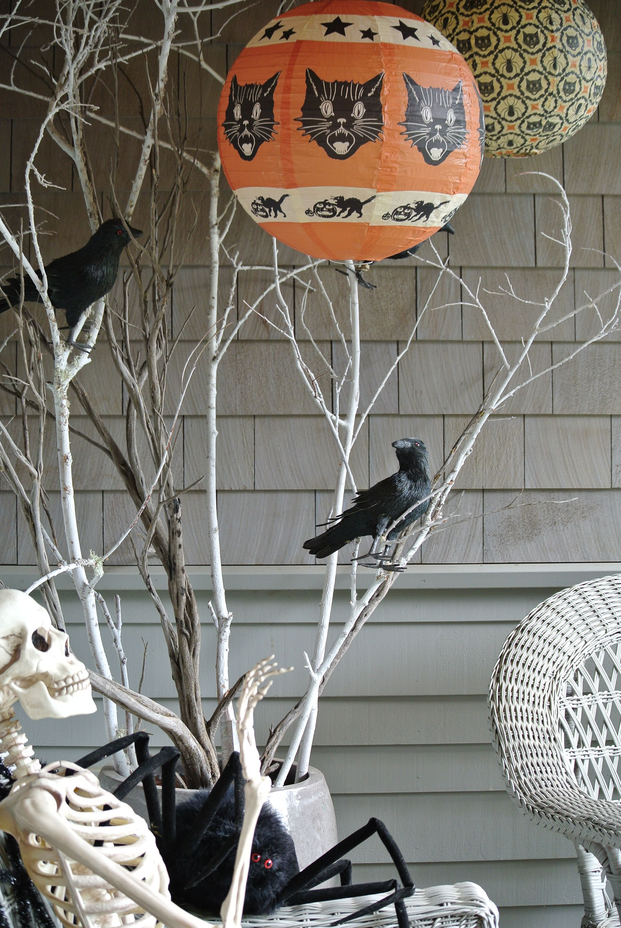 Front porch decor - scary?
