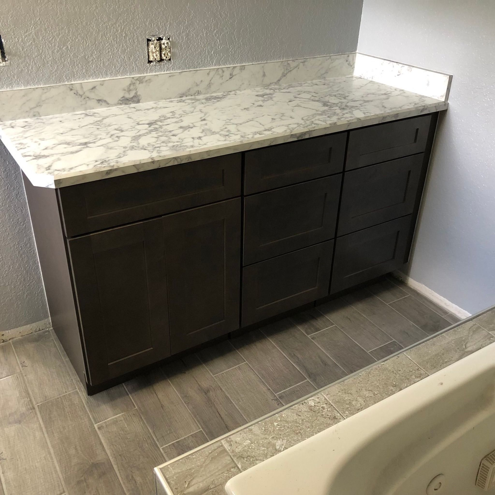 Closetrodz On Laminate Countertops Vanity Laminate Counter