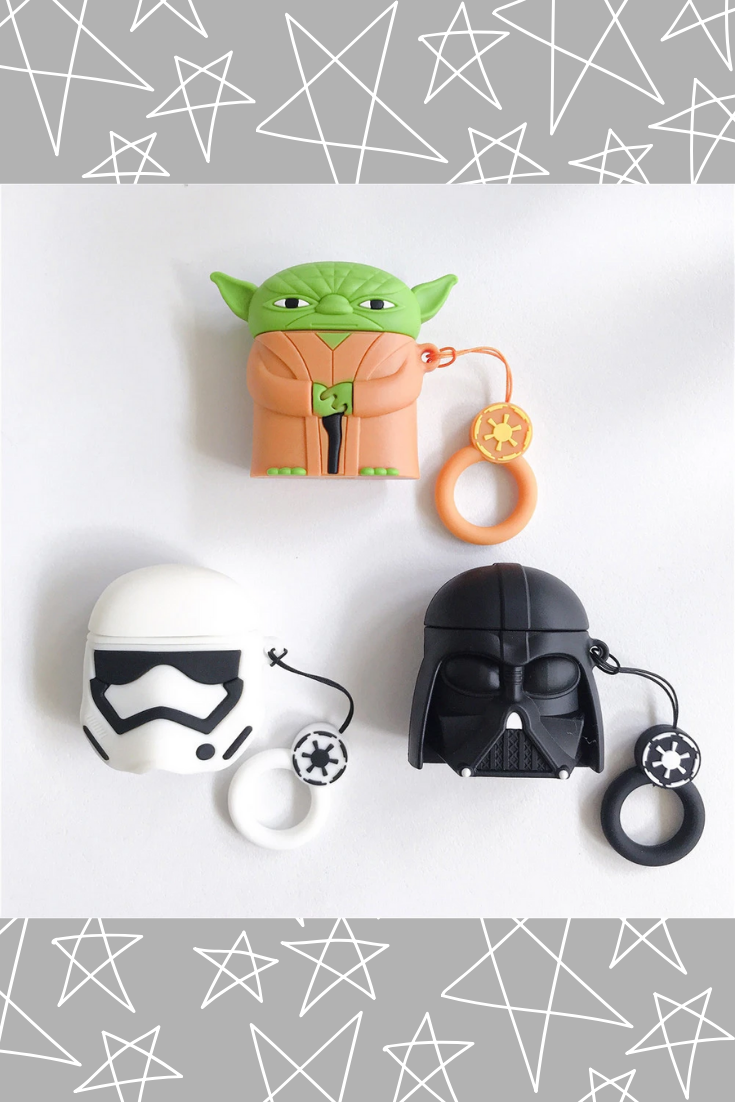 3D Star wars design case makes your Air pods look
