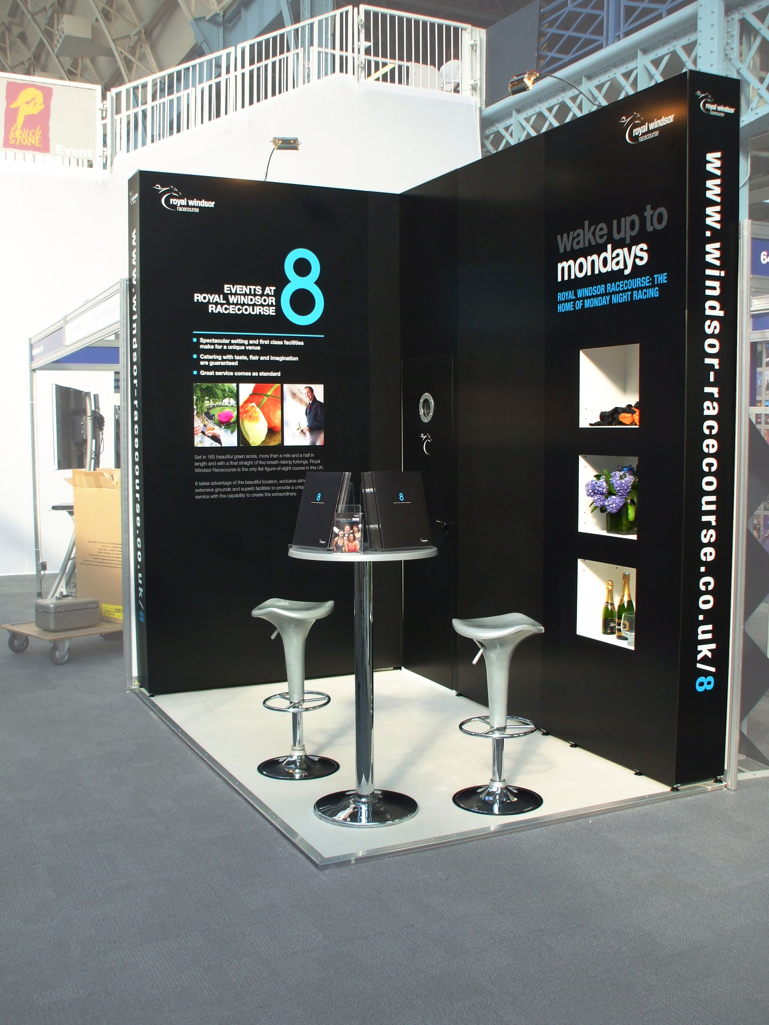 Exhibition Services Royal Windsor Racecourse Olympia
