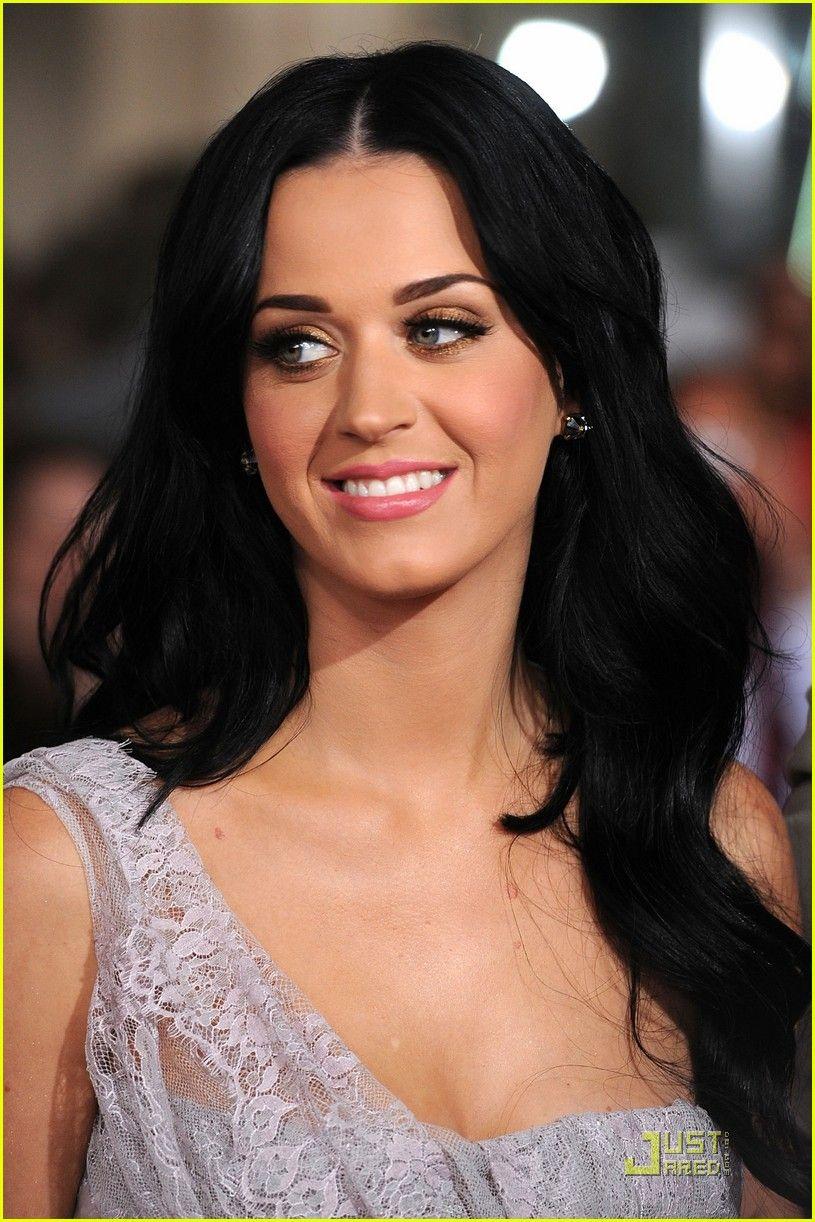 Watch Katy Perry Black Sleek Long Straight Hairstyle video