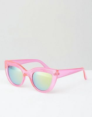 Cat Eye Sunglasses In Pink - Pink Jeepers Peepers 7Id6Bnw