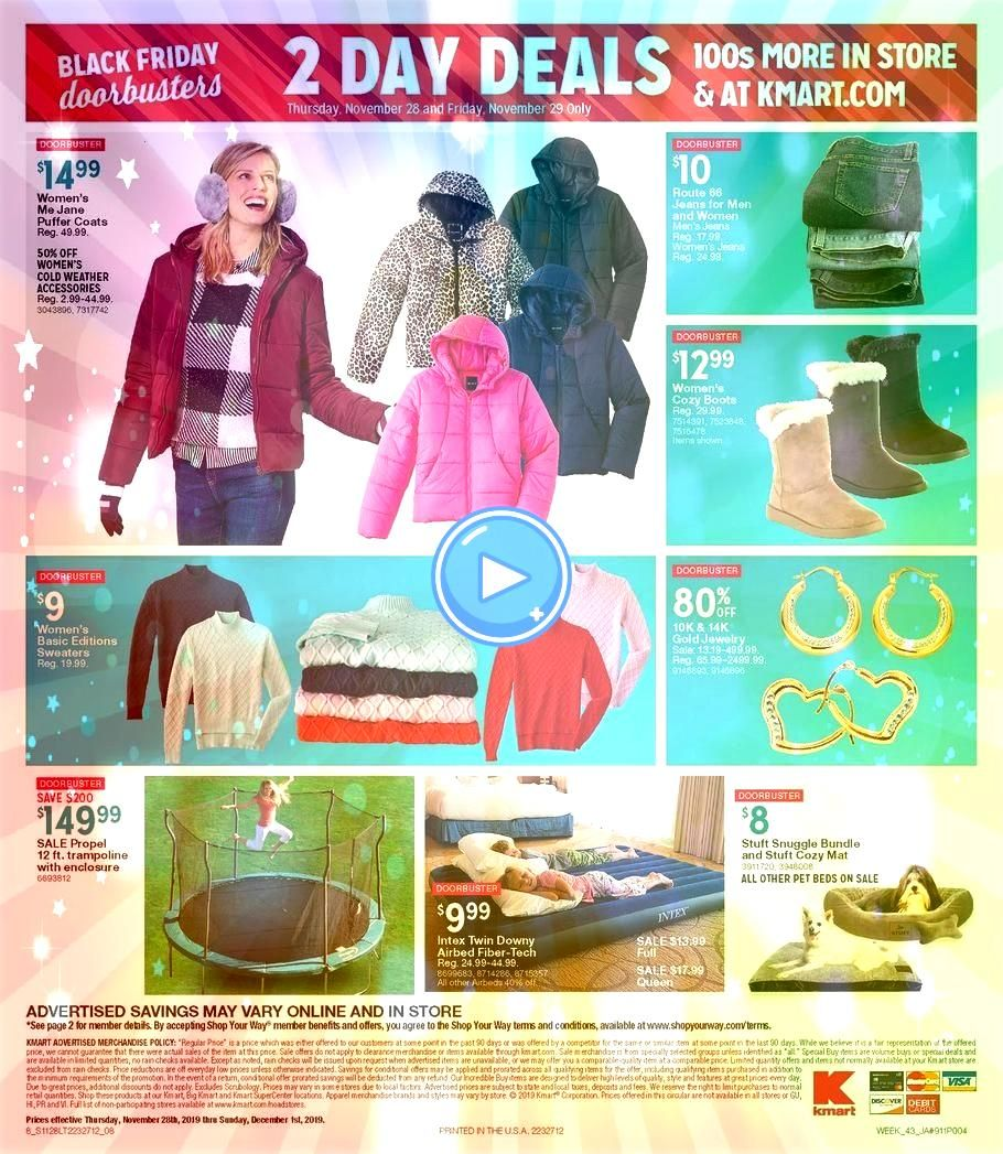 Black Friday Ad Scan Deals and Sales 2019 Kmart Black Friday Ad Scan Deals and Sales 2019 The KMart 2019 Black Friday ad is here Be sure to subscribe to our newsletter to...