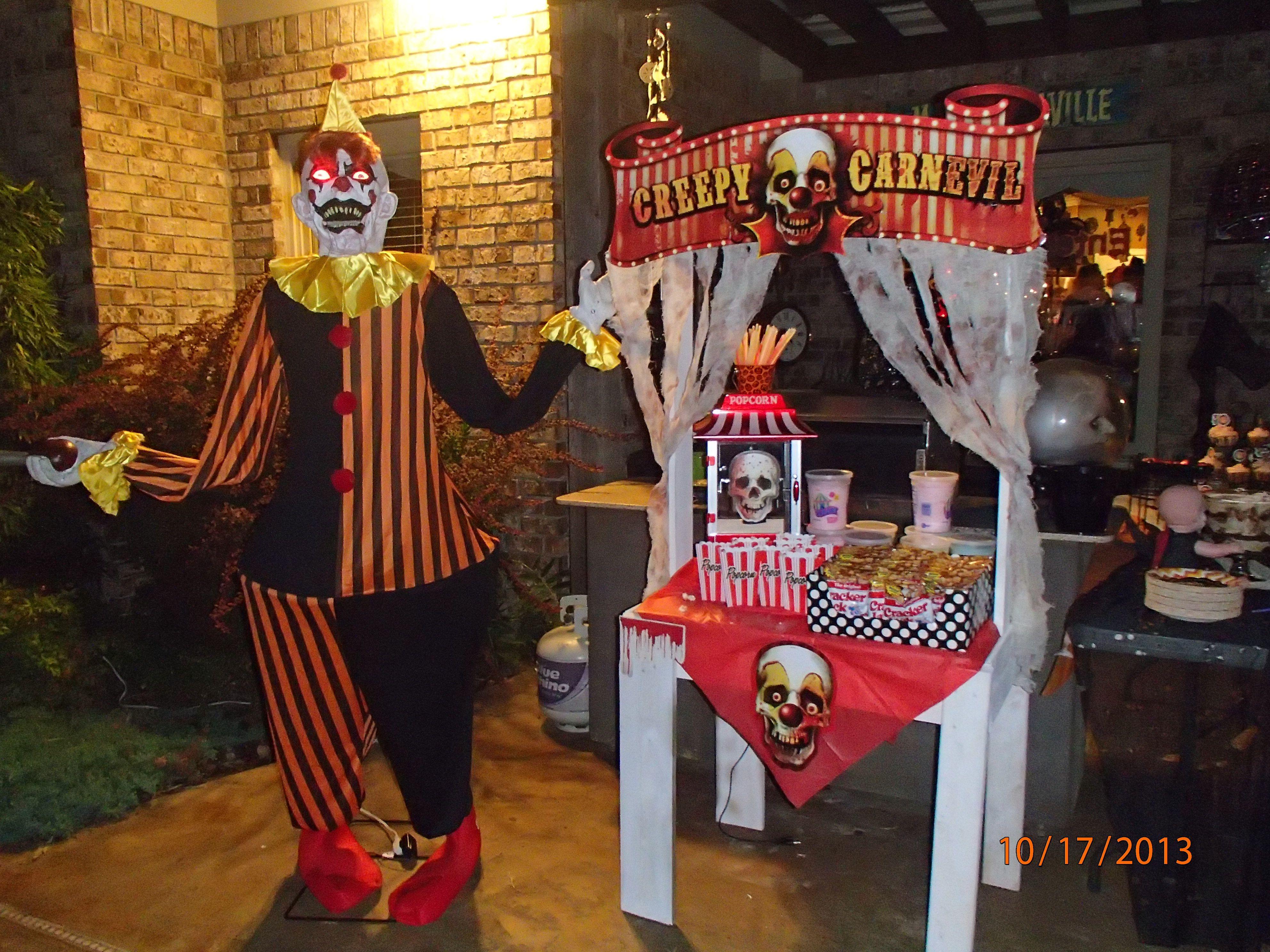 brown asylum halloween party food,#halloween carnival #halloween