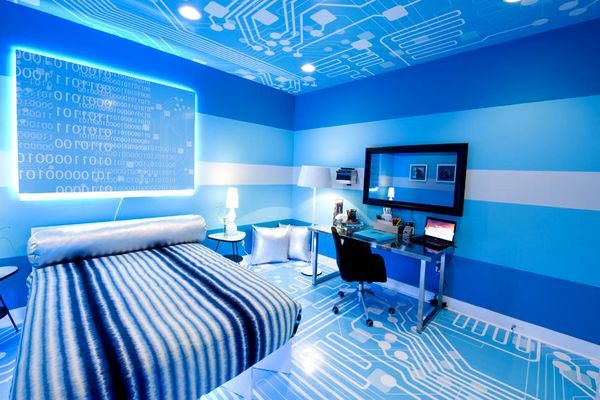 High Tech Bedroom Design | Bedroom Design Ideas