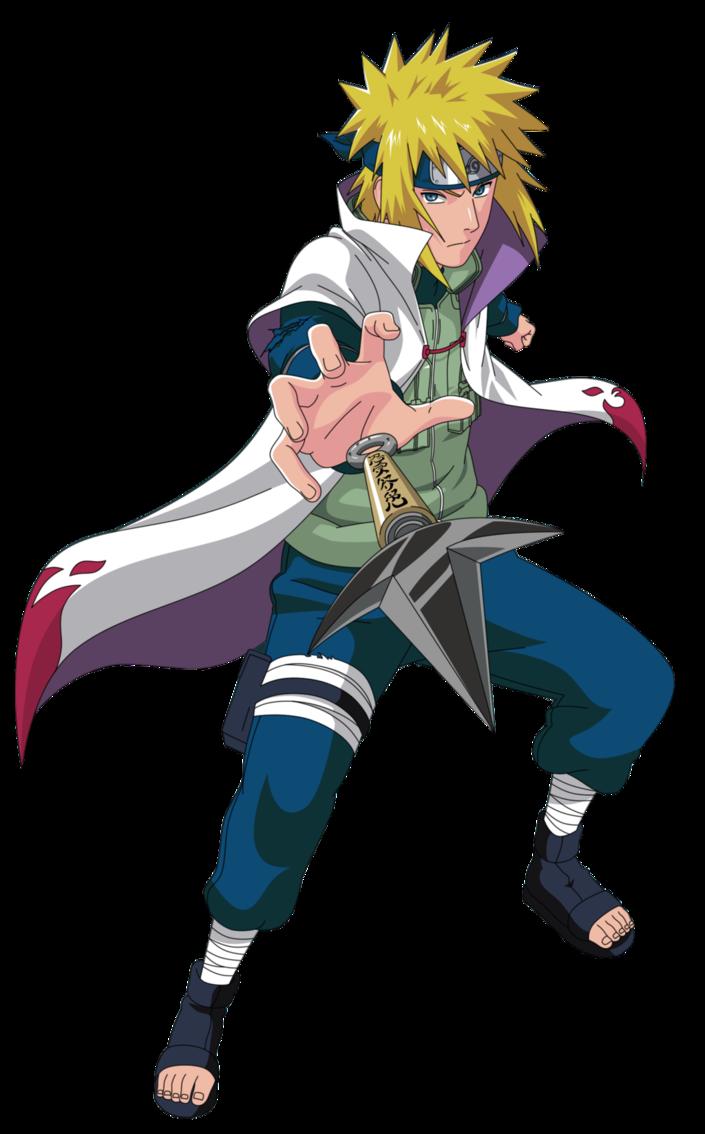 Minato Namikaze Yondaime Hokage From Naruto Naruto Characters Naruto Minato Anime Naruto
