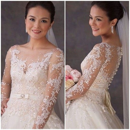 Veluz Reyes Wedding Gown: Veluz Reyes Wedding Gowns