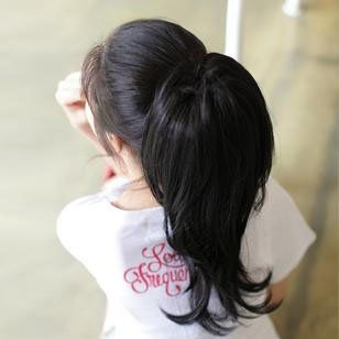 "Gift Idea! Miss Beauty Super Natural Casual Style Pony Tail Hairpiece High Heat Styleable - Black by Miss Beauty. $9.99. Easy Attach Drawstring Fitting. 15"" Long. Three Colors Available. 2 in 1 Dual Style Pony Tail Hairpiece by Miss Beauty. Suitable for any casual occasion. High Quality Premium Kanekalon Fibre. Brand: Miss BeautyModel: WIG-1011, Miss Beauty Super Natural Casual Style Pony Tail Hairpiece High Heat Styleable, New Year Gift Idea, Price/PieceDimension: Lengt..."