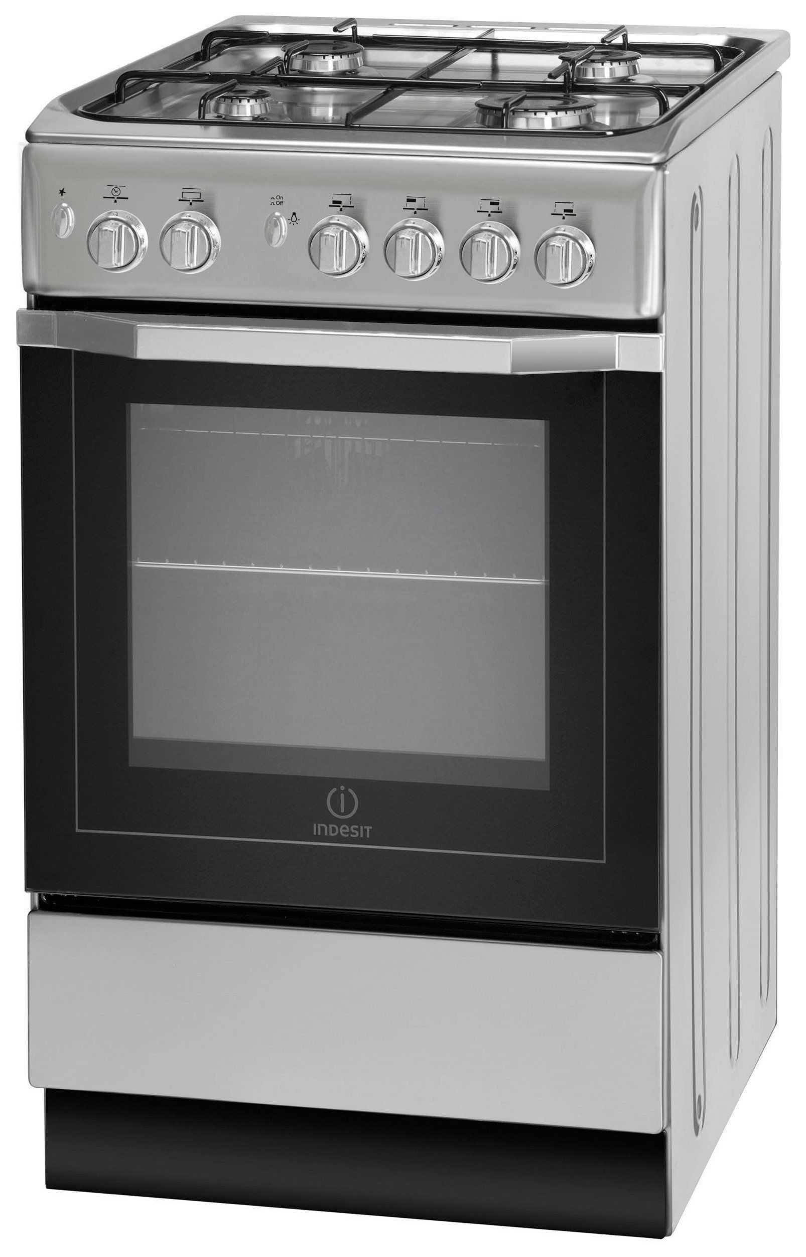 Uncategorized Argos Kitchen Appliances buy indesit i5gg1s freestanding cooker silver at argos co uk your online