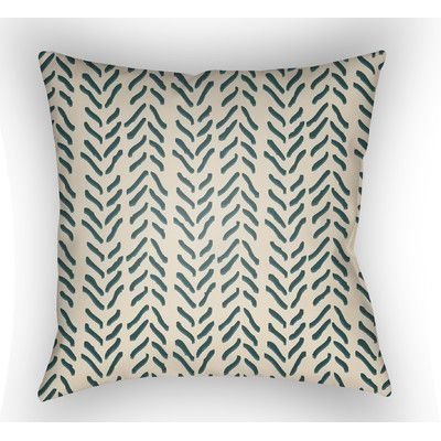 Surya Textures Polyester Throw Pillow & Reviews | Wayfair