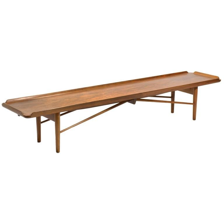 Finn Juhl Bench or Table by Baker | 1stdibs.com