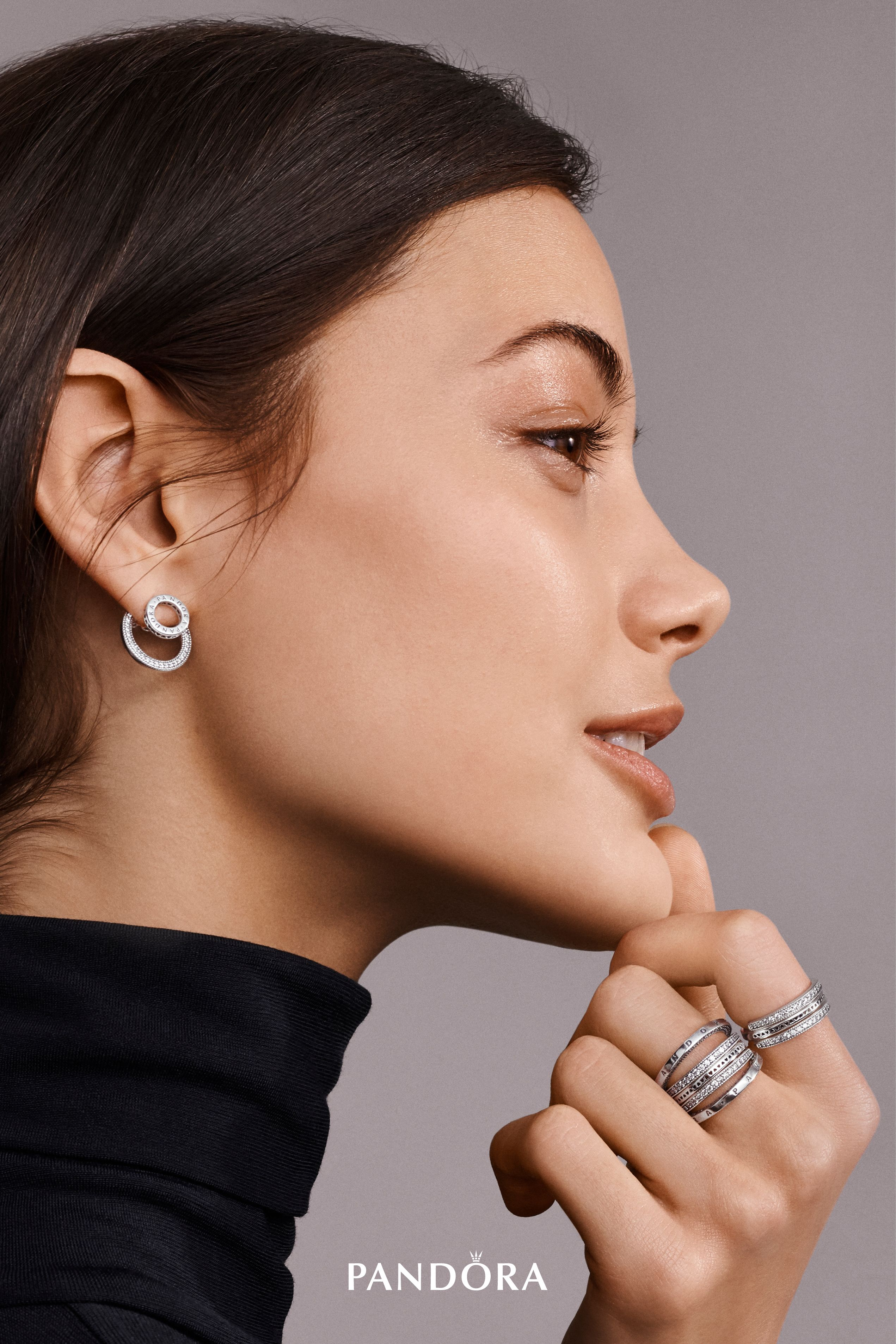 Flip It Reverse It Twist It Mix It Be Inspired To Wear It Your Way With New Jewellery Designs That Fuse Pandora Earrings Stacked Jewelry Signature Jewelry