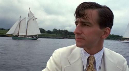 Sam Waterston in the Great Gatsby