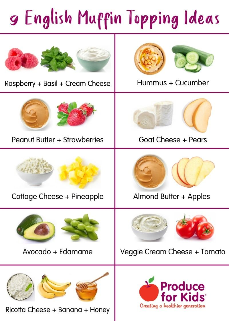 Here Are Easy Topping Ideas For English Muffins That Require Zero Cooking Making Them Easy For Kids English Muffin Kid Friendly Meals English Muffins Toppings