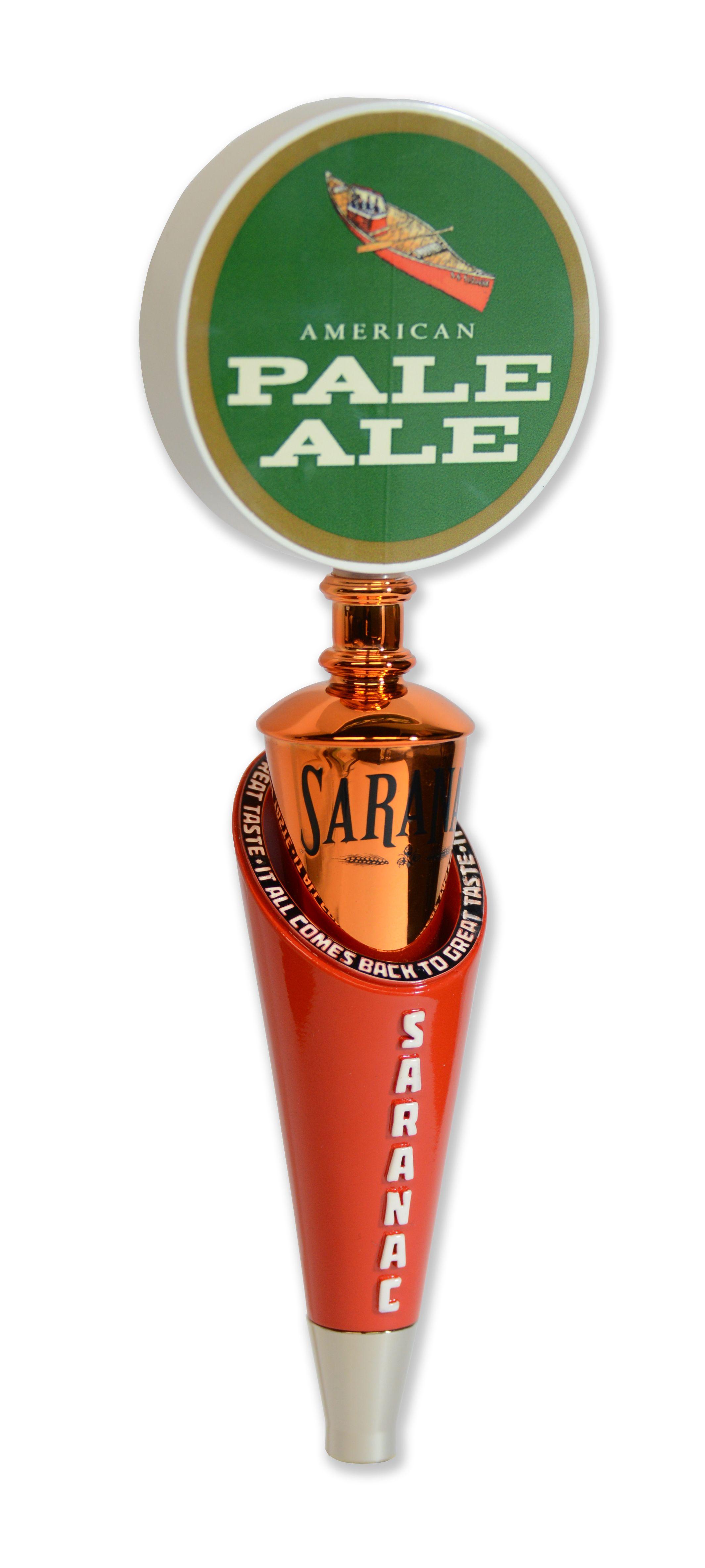 Saranac custom tap handle
