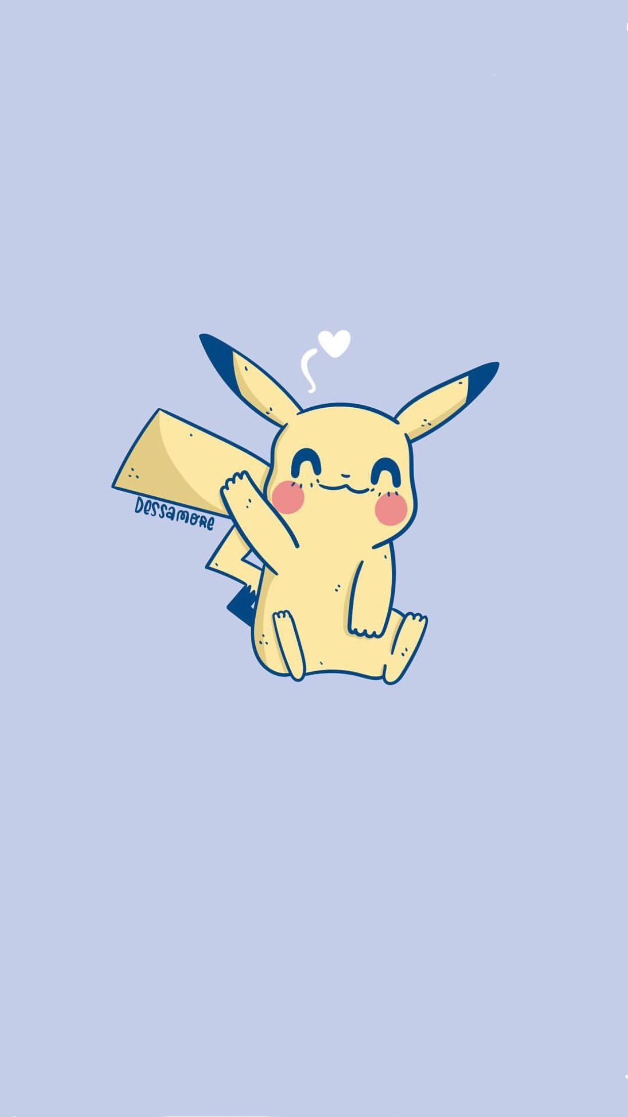 Wallpaper Iphone Android Pikachu Wallpaper Cute Pokemon