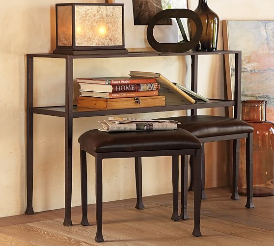 Tanner Console Table   Bronze Finish #potterybarn