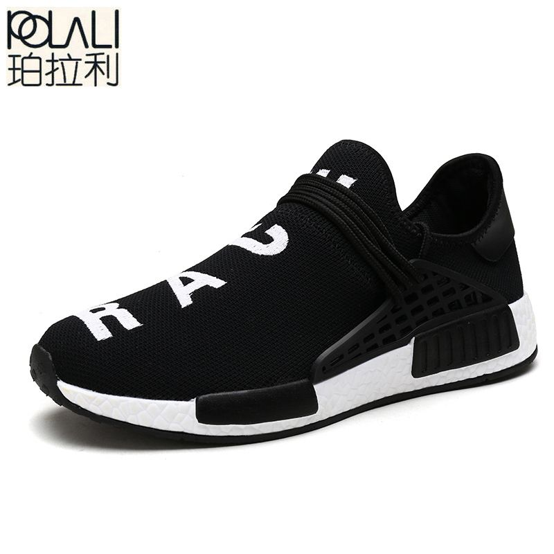 e36510752b5bb POLALI New Summer Tenis Designer Men Shoes Casual Mesh Luxury Breathable  Male Shoes Human Race Sport