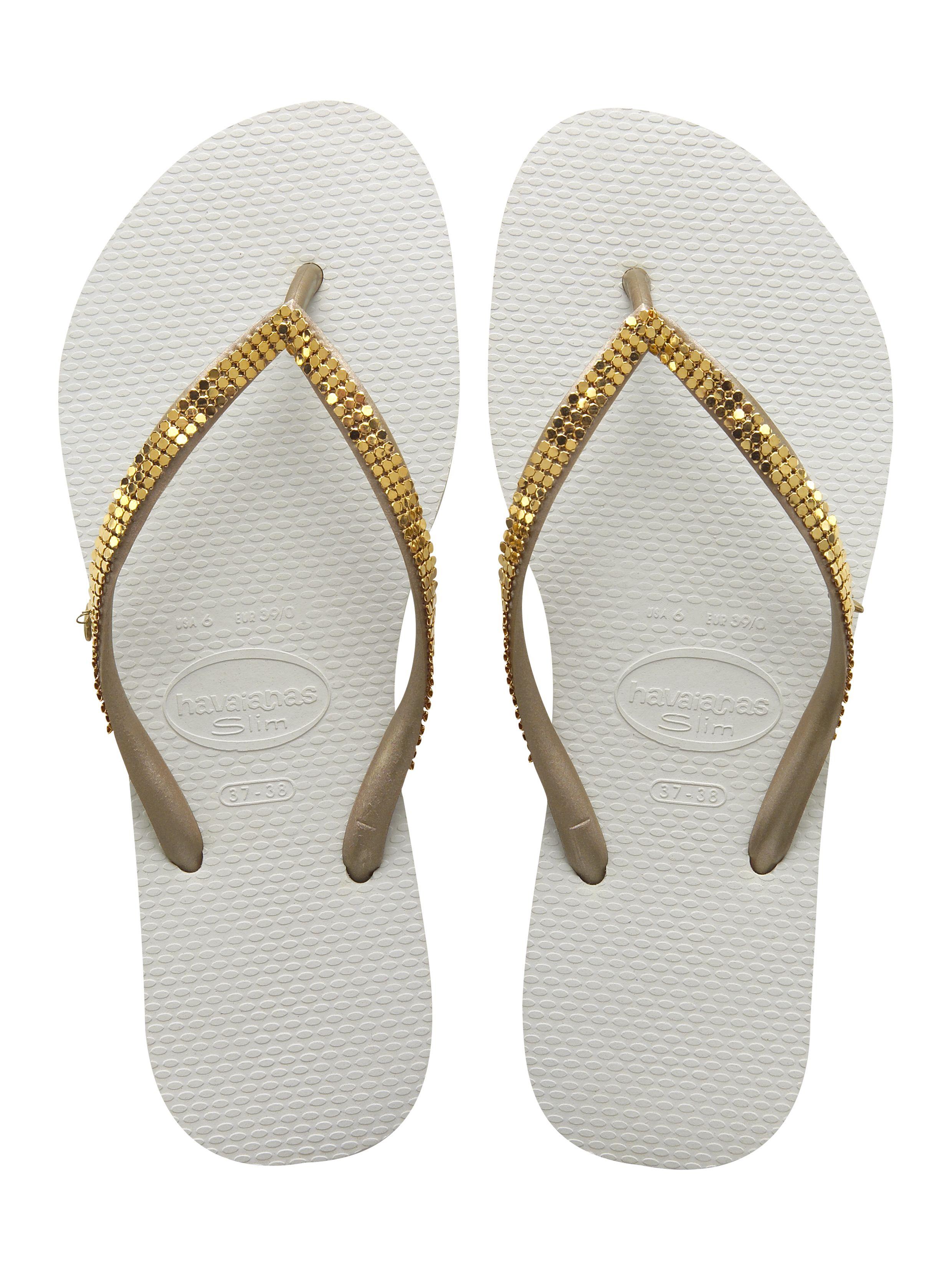 ecf5cb31b7b1 Beach Sandals · Slim Metal Mesh Branco SS14