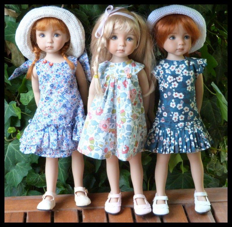 l'été en ville Clementine,Camille et Pauline